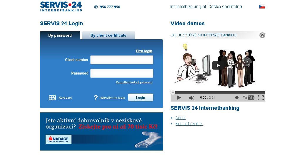 Internetbanking ČS